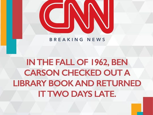 Ben carson is mocking the media on his facebook page