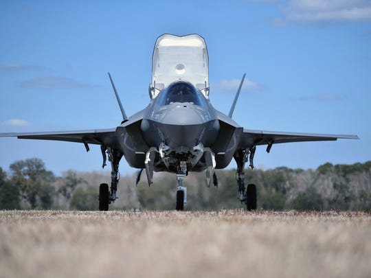 The F-35B Lightning II fifth generation multi role