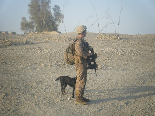 While deployed to Afghanistan in 2010, former Cpl.