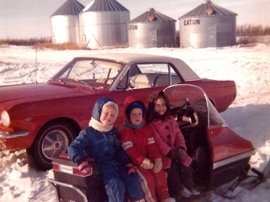 The '65 Mustang on a Bredahl family outing.