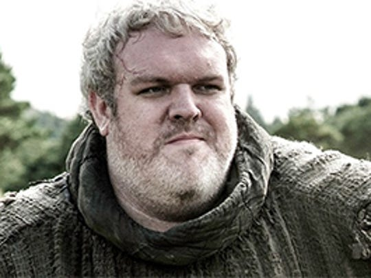 """Kristian Nairn portrayed the role of fan favorite Hodor in HBO's """"Game of Thrones,"""" based on George R.R. Martin's New York Times best-selling novels."""
