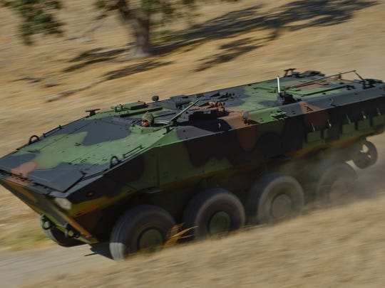 BAE's version of the amphibious combat vehicle can