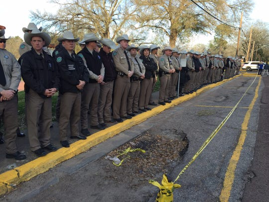 More than 100 game wardens with the Texas Parks and