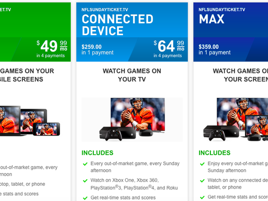 Nfl Sunday Ticket Available Without Directv Subscription