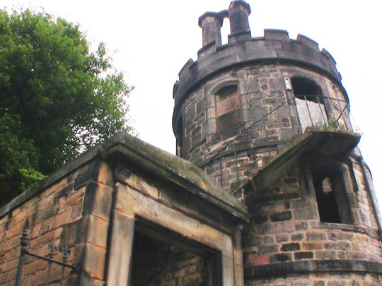In Edinburgh, the church yard resorted to building