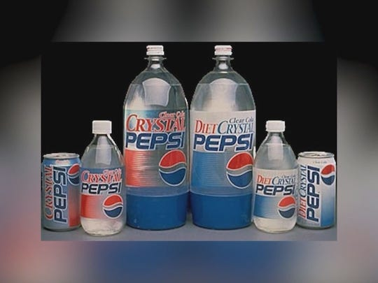 Crystal Pepsi is making a comeback through a limited