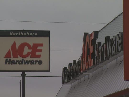 Northshore Ace Hardware store in North Muskegon, Michigan.