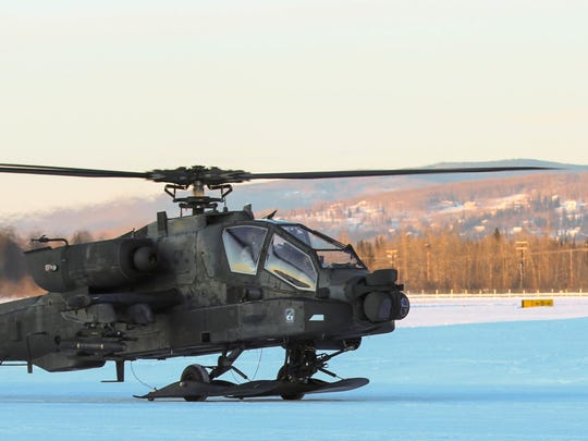 AH-64 Apache aviators from 1st Battalion, 25th Attack