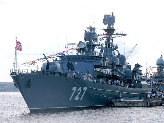 The Yaroslav Mudry in 2011, wearing her original pennant