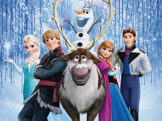 "A Broadway version of ""Frozen"" is in the works."