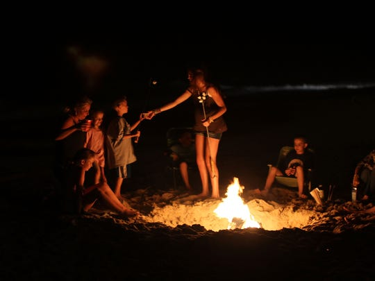 Gather around a campfire for real spookiness at the San Angelo State Park.