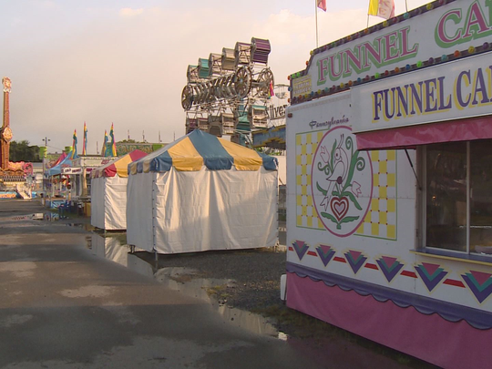 The Sevier County Fair in 2013.