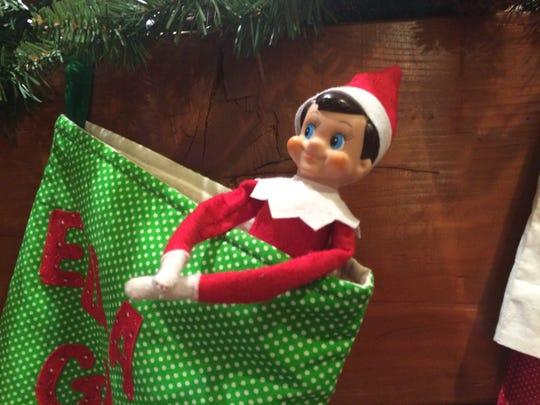 Ralphie the Elf on a Shelf