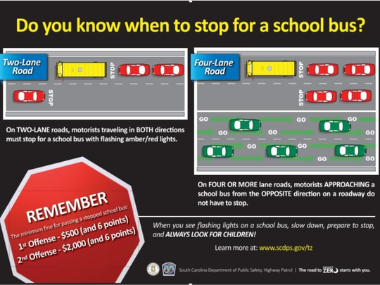 Bus safety is paramount as schools return to session.