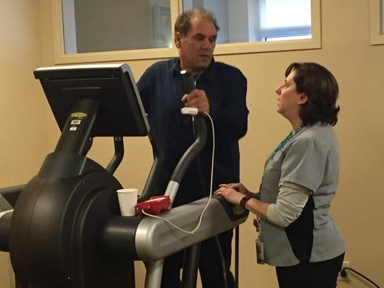 Local man fighting rare lung disease