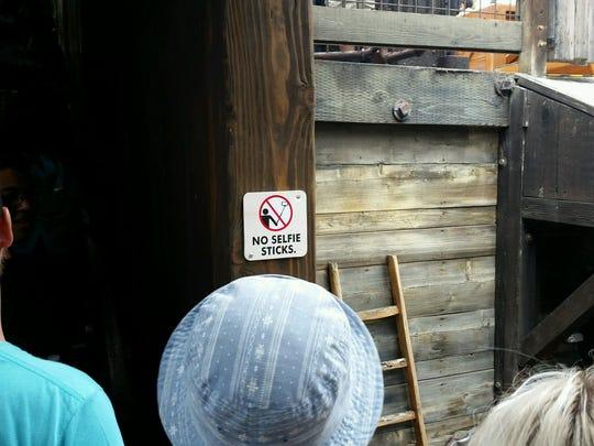 disney parks ban selfie sticks. Black Bedroom Furniture Sets. Home Design Ideas
