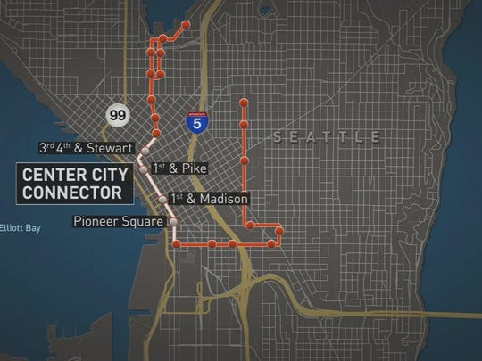 New Seattle streetcar would connect through city center