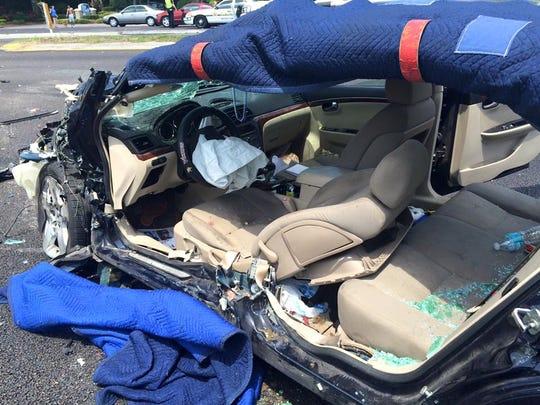 Cocoa Village Florida Car Crash