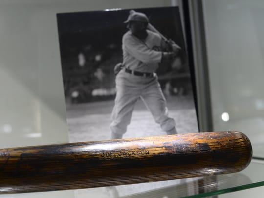 "1911 ""Shoeless Joe"" Jackson Game Used Rookie Bat on"