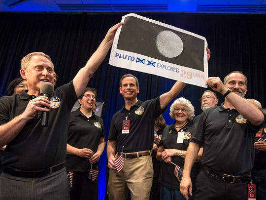 New Horizons Principal Investigator Alan Stern of Southwest