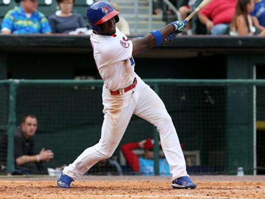 Bisons Melky Mesa slams a game winning two run homer