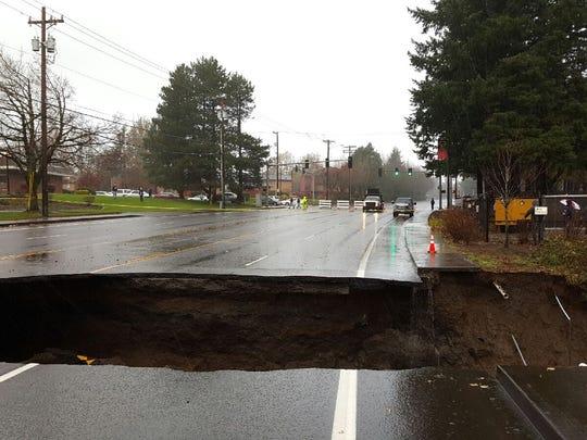 wettest day in portland history causes landslides  floods