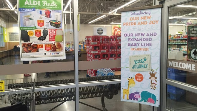 The grand opening for the new Aldi at 3937 S.E. U.S. 1 is Sept. 15. The first 100 shoppers will receive store gift certificates, free reusable bags, samples and entry in a contest to win free produce for a year.