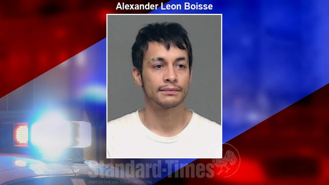 A mugshot of Alexander Leon Boisse, 32, arrested in the offense of continuous sexual assault of a child. April 13, 2018