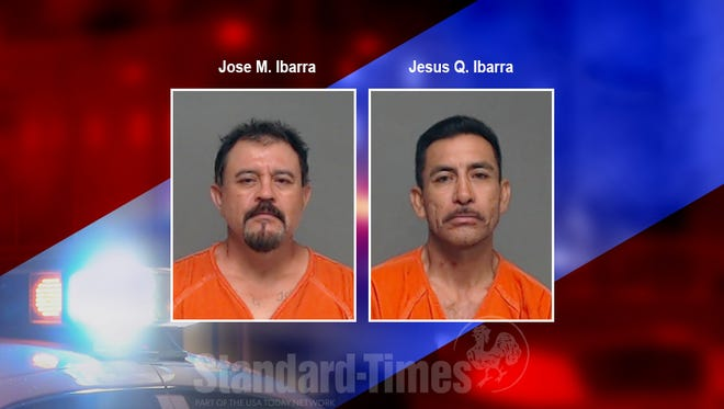 Mugshots of Jose M. Ibarra and Jesus Q. Ibarra, who were arrested on suspicion of distributing narcotics. June 8, 2018
