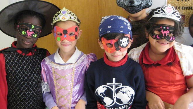 Holy Family Catholic School students enjoyed a Halloween parade and class parties Oct. 31.