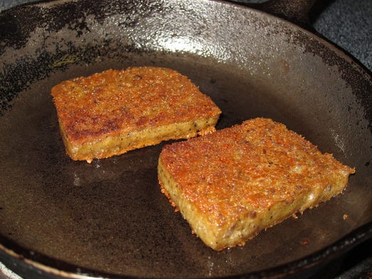 It's a big country out there, and there's still plenty of food that's known and beloved only by the lucky locals. Scrapple (Mid-Atlantic): In the Mid-Atlantic states, a traditional food of the Pennsylvania Dutch is easy to track down: scrapple. It's made by combining pork scraps and trimmings with cornmeal and seasonings, blending it into a mush, forming it into a loaf, letting it congeal, then slicing and pan-frying before serving. Don't knock it until you try it: the first recipes date back to the 1600s and it's been perfected over the years, so it's pretty tasty. It's also nothing short of beloved: there's even an annual scrapple festival.