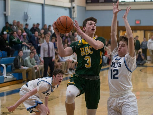 Red Bank Catholic  Boys Basketball vs Christian Brothers