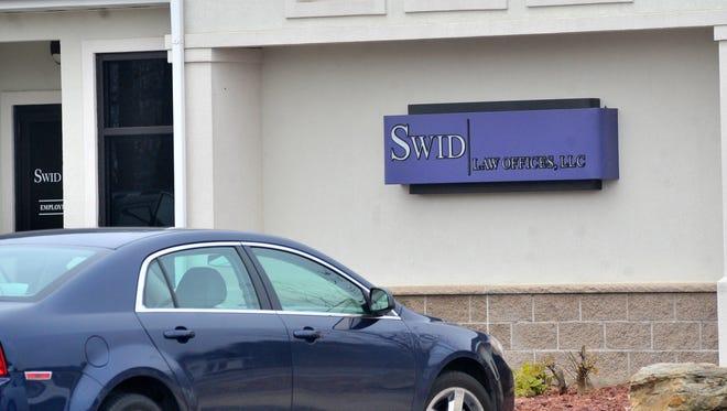 Swid Law Offices in Mosinee on Nov. 4, 2015.