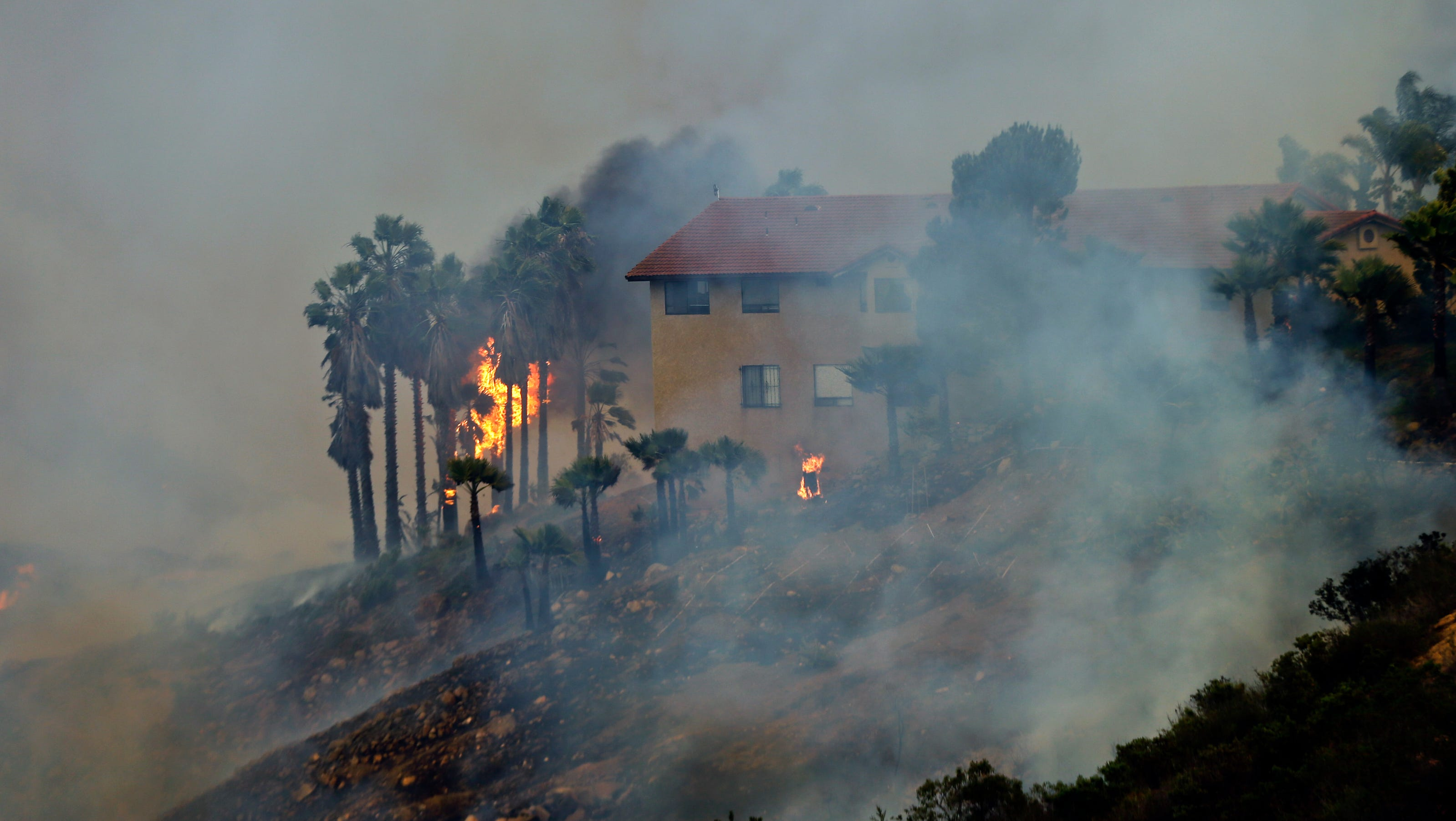 Fire In San Diego Today >> More air assets mobilized to battle Calif. fires
