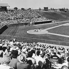 THEN: Chandler Compadre Stadium in 1988 where the Milwaukee Brewers held their Spring Training games. It was built in 1985 and began hosting the Milwaukee Brewers for Spring Training in 1986. That year on opening day there was a boiler explosion which injured nine players and coaches.