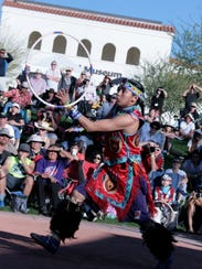 Nakotah LaRance, who is Pima, Tewa and Assiniboin,