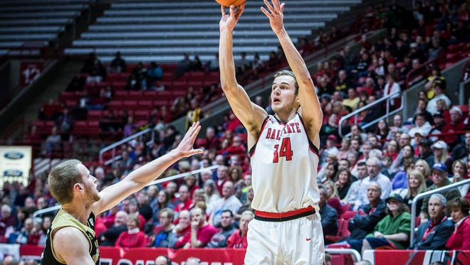 Ball State defeated Western Michigan at Worthen Arena Saturday, Jan. 28, 2017.