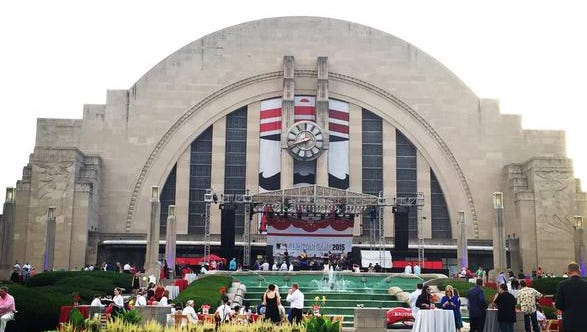 MLB's All-Star Gala was held Sunday at Union Terminal.