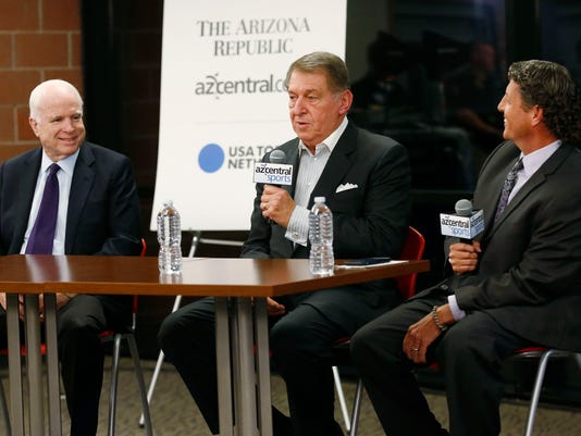 Dan Bickley interviews U.S. Sen. John McCain and Jerry Colangelo