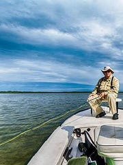 In addition to music, David Agard had a love for the outdoors. This photo captures his very last fishing trip.