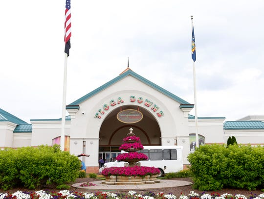 Tioga Downs Casino on West River Road in Nichols has 944 slot machines, 32 table games and 12 poker tables.