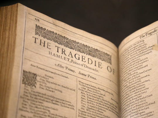 The First Folio, published in 1623, is the book that