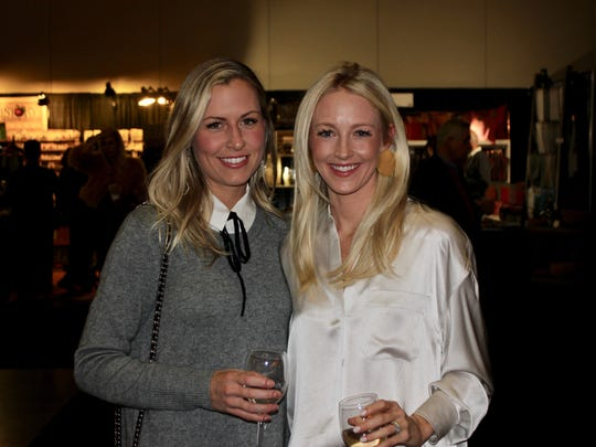 Callie Myers, Elizabeth Frist at the 28th annual Antiques