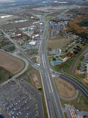 The Five Points intersection in Lewes is not meeting current traffic and safety needs.