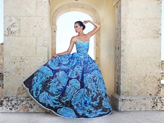 Vivre Canvas Couture - Jellyfish Gown - will be among