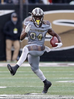 Western Michigan receiver Corey Davis collected several postseason honors this year.