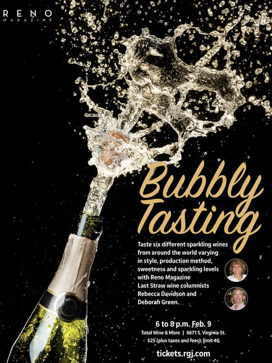 Reno Magazine Bubbly Tasting