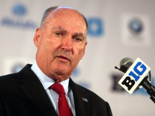 USP NCAA FOOTBALL: BIG TEN MEDIA DAY S FBC USA IL