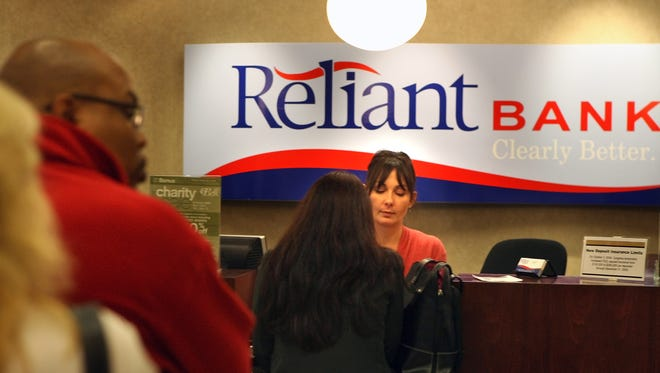 Brentwood's Reliant Bank is pursuing a merger with another bank.