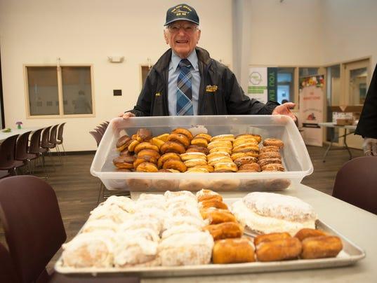 Volunteer 87 Brings Pastries Joy To Camden